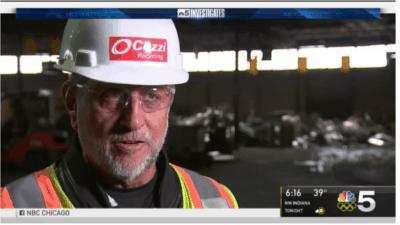 NBC 5 Cozzi Recycling